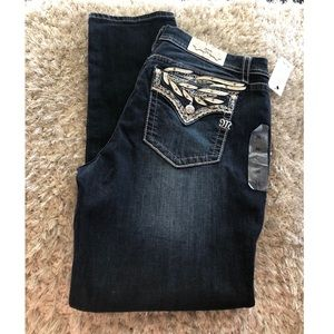 NWT Miss Me Easy Straight Jeans
